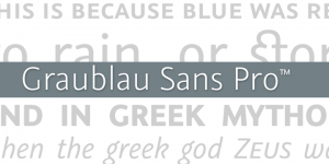 Our font choice for the new design