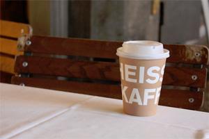 Coffee cup in Zürich