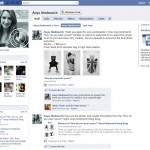 Example of a fanpage in facebook