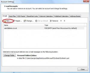 Add New E-mail