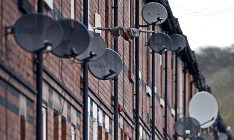 Multiple Satellite Dishes