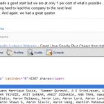 hidden text google plus