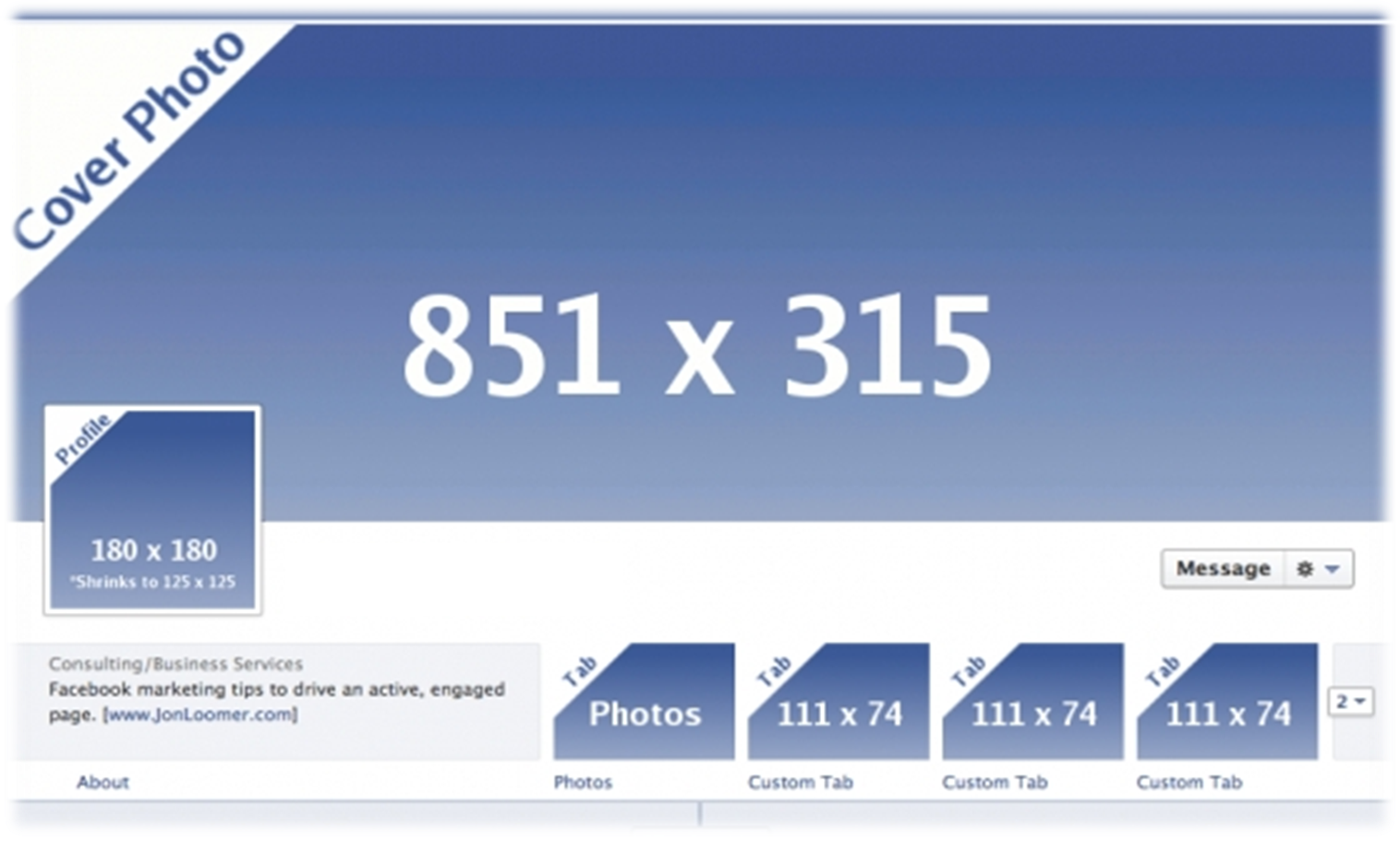 How to target your competitors facebook fans datadial for Facebook page header template