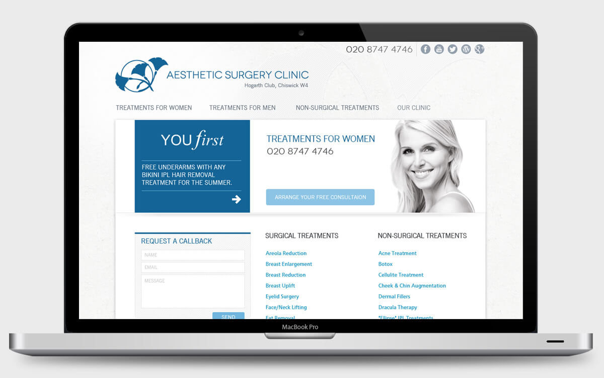 laptop-aesthetic-surgery-clinic